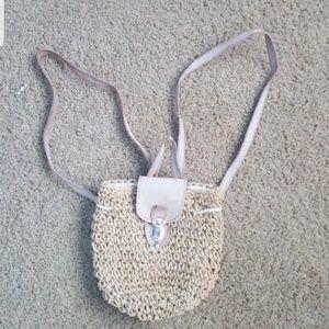 Handbags - Vintage distressed mini backpack